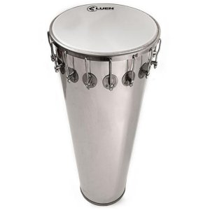 Timbal Luen Percussion 70x14 Alumínio com Pele Leitosa