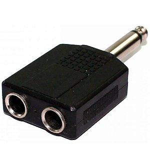 Adaptador Conector KSR Pro 2P10/ P10 Mono