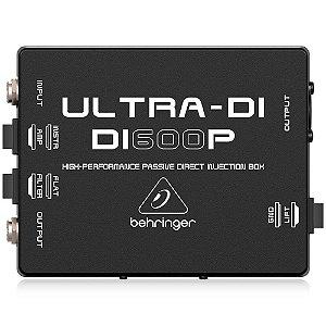 Direct Box Passivo - DI600P - Behringer