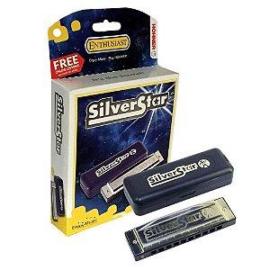 Gaita Diatônica Hohner Silver Star 504/20 F (Fá)