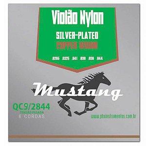 Encordoamento Mustang QC9 Tensão Pesada para Violão Nylon