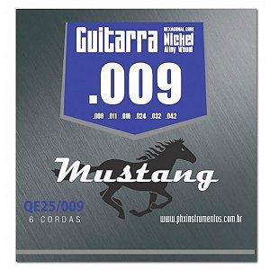 Encordoamento Mustang QE25 .009/.042 para Guitarra