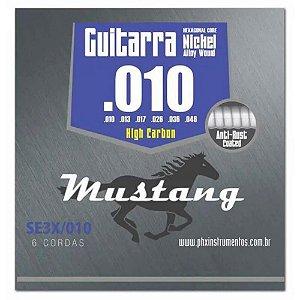 Encordoamento Phx SE3X .010/.046 High Carbon para Guitarra