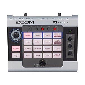Processador de Efeitos Zoom V3 Vocal Multi-efeitos