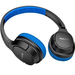 Fone de Ouvido Bluetooth TASH402BL/00 Azul/Preto PHILIPS