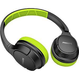 Fone De Ouvido Philips Tash402lf Verde/preto Bluetooth