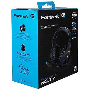 Headset Gamer Fortrek Holt Rgb Preto