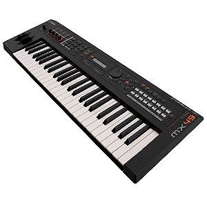 Teclado Sintetizador Yamaha Mx61 61 Teclas Preto