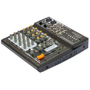 Mesa De Som Soundcraft Sx602fx Usb 6 Canais