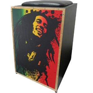Cajon Elétrico Jaguar K2 Bob Marley Inclinado