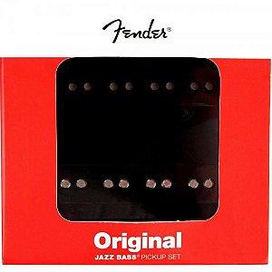 Set De Captadores Fender Jazz Bass Original Preto