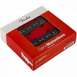 Set De Captadores Fender Gen 4 Noiseless Jazz Bass