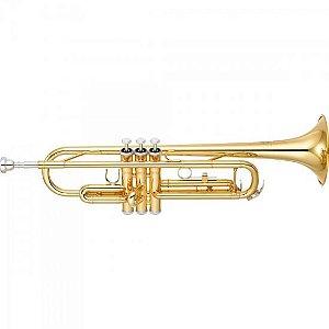 Trompete Yamaha Ytr-3335 Laqueado Em Sí Bemol