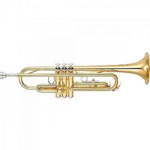 Trompete Yamaha Ytr-2330 Laqueado Em Sí Bemol