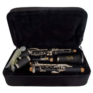 Clarinete Harmonics Hcl-520 Fosco Em Sí Bemol 17 Chaves