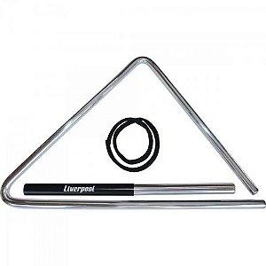 Triângulo De Aço Liverpool Tf-537 43cm Para Forró