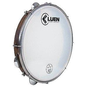 "Pandeiro Luen Percussion 12"" Guetto Cromadas Pele Master"