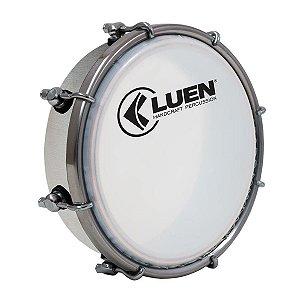 Tamborim Luen Percussion 6 Alumínio Guetto com Pele Leitosa
