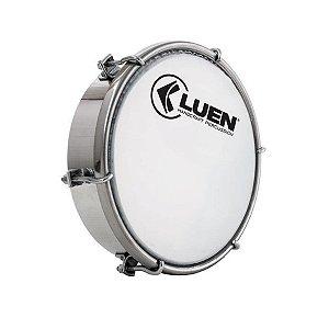 Tamborim Luen Percussion 6 Alumínio Pele Leitosa