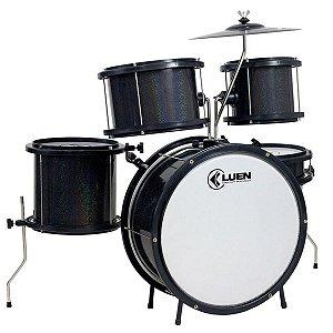 Bateria Infantil Luen Percussion Pop Bumbo 14 Preta
