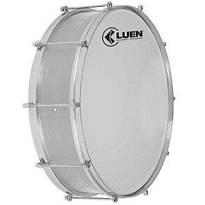 Zabumba Luen Percussion 15x18 Alumínio com 8 Afinações
