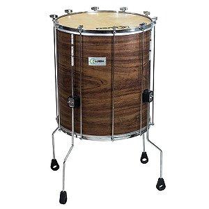 Surdo Luen Percussion 60x20 Imbuia Guetto com Pele Cabra