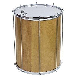 Surdo Luen Percussion 60x18 Verniz Cromados com Pele Leitosa
