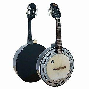 Banjo Acústico Marquês BAJ-88 4 Cordas Preto