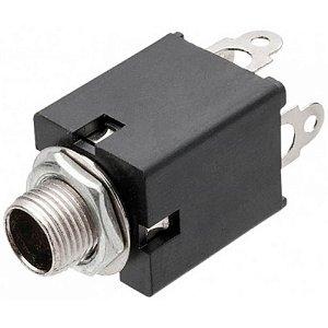 Jack Mono MXT P10 6,35mm Circuito Fechado 2P