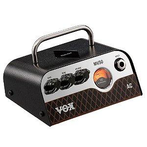 Cabeçote Vox MV Series MV50-AC 50W Pré-Valvulado para Guitarra