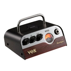 Cabeçote Vox MV Series MV50-BQ 50W Pré-Valvulado para Guitarra