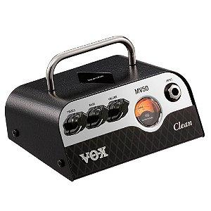 Cabeçote Vox MV Series MV50-Clean 50W Pré-Valvulado para Guitarra