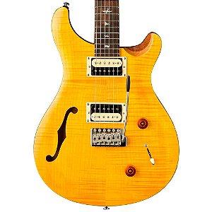 Guitarra Semi-Acústica PRS CU2SH SE Custom Santana Yellow