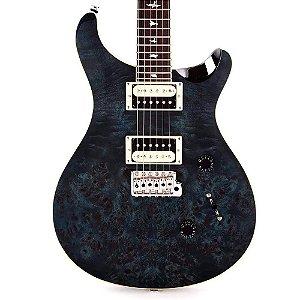 Guitarra PRS CU4PPCB SE Custom Burl Top Whale Blue