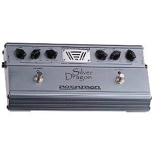 Pedal de Efeito Valvulado Rocktron Dragon Silver Distortion