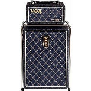 Cabeçote e Gabinete Vox Mini Superbeetle MSB50-Audio Black 50W para Guitarra