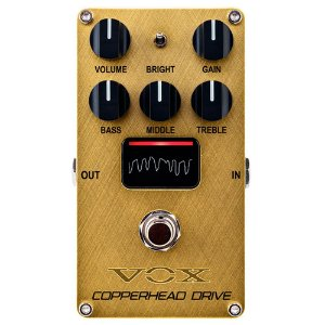 Pedal Vox VE-CD Copperhead Drive Overdriver/Distortion