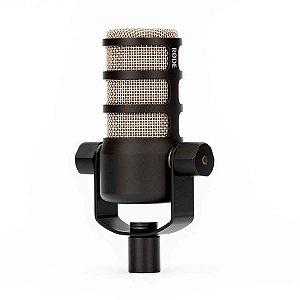 Microfone Podcasting Rode PODMIC Dinâmico