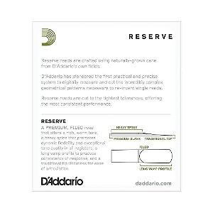 Palheta D'Addario DJR1020 Sax Alto 2 Woodwinds Reserve (caixa com 10)