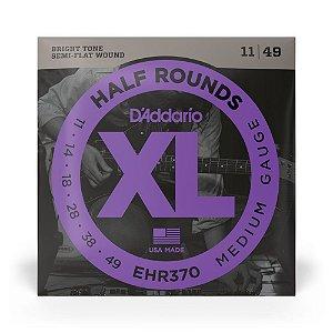 Encordoamento D'Addario EHR370 Guitarra .011 Half Rounds