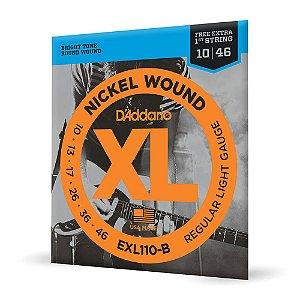 Encord D'Addario EXL110-B Guitarra .010 Corda Extra PL010