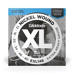 Encordoamento D'Addario EXL148 .012 para Guitarra