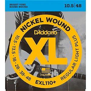 Encordoamento D'Addario EXL110+ Guitarra .010 Corda Extra