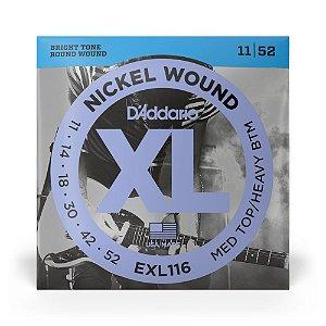 Encordoamento D'Addario EXL116 Guitarra .011 XL Nickel Wound