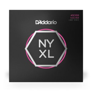 Encordoamento D'Addario NYXL45100 Baixo 4C .045