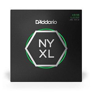 Encordoamento D'Addario NYXL4095 Baixo 4C .040