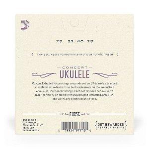Encord D'Addario EJ65C Ukulele Nylon Concerto Pro-Arté