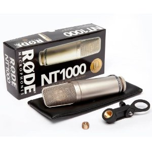 Microfone Profissional Rode NT1000 Condensador