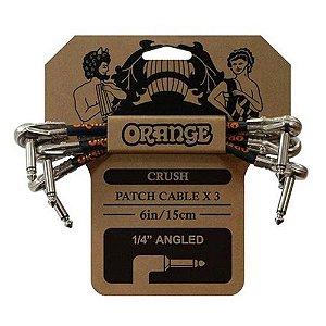Kit Cabo Orange CA038 Crush Patch 3-Pack P10 15cm para Pedal
