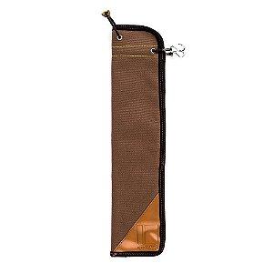 Bag Capa Promark SESB Marrom para Baquetas 4 Pares